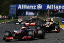 Formel 1 - Button in Monza: Aller guten Dinge sind vier?