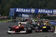 Formel 1 - Massa sehr zufrieden mit Platz 5