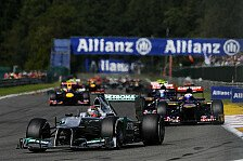 Formel 1 - Mercedes hofft auf Monza-Besonderheiten