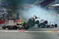 Formel 1 Top-5: Startkollisionen: Crash, Boom, Bang!