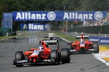 Formel 1 - Marussia erwartet schwieriges Wochenende in Monza