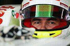 Formel 1 - Perez: Rosberg hat bessere Pace als Vettel