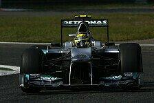 Formel 1 - Rosberg fühlt sich wohler als in Spa