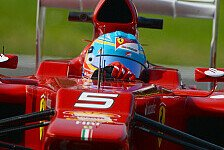 Formel 1 - Komplizierter Tag für Alonso