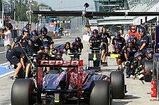 Formel 1 - Toro Rosso: Es ist noch Luft nach oben