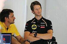 Formel 1 - Grosjean: Versuche zu helfen, wo ich kann