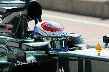 Formel 1 - Caterham mit positiven Vorzeichen