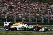 Formel 1 - Di Resta: Simulator-Arbeit war hilfreich