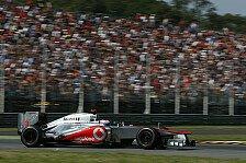 Formel 1 - Button erwartet keine große DRS-Hilfe in Monza