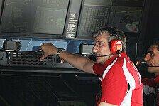 Formel 1 - Ferraris Technikausfall: Totaler Blackout