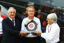 Formel 1 - Montezemolo erhält Ecclestone-Award