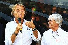 Formel 1 - Ecclestone-Kritik: Montezemolo rudert zurück