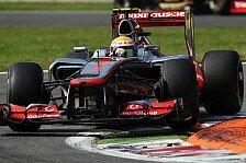 Formel 1 - Qualifying: Hamilton auf Pole, Alonso Zehnter