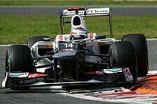 Formel 1 - Kobayashi: Zufrieden mit Q3
