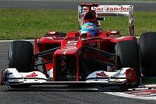 Formel 1 - Aufhängungsproblem bei Alonso