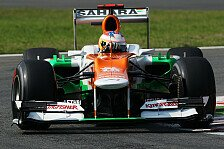 Formel 1 - Di Resta nach P4: Unglück im Glück