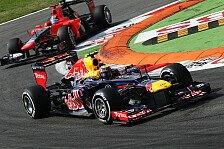 Formel 1 - Webber sah die Strecke nicht mehr