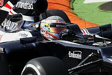 Formel 1 - Maldonado bleibt im Verkehr hängen