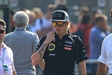 Formel 1 - Lopez: Auf kurze Sicht ist Kimi bei uns