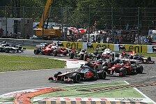 Formel 1 - Italien GP: Hamilton gewinnt vor Perez
