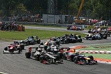 Formel 1 - 2013: Erster Kalender-Entwurf aufgetaucht