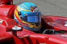 Formel 1 - Alonso: Singapur bietet keinen Platz für Fehler