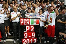Formel 1 - Perez: Attacke im zweiten Stint