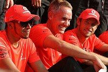 Formel 1 - Whitmarsh sicher: Hamilton bleibt