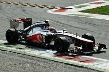 Formel 1 - 1. Training: McLaren in Suzuka vorne