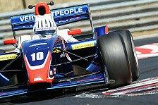 Formel 2 - Fontana bei Tests in Monza Schnellster