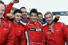 GP3 - Evans testete neuen GP3-Boliden