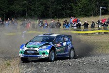 WRC - Rallye GB: Latvala übernimmt die Führung