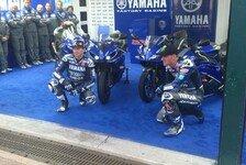 MotoGP - Yamaha mit Speziallackierung in Misano