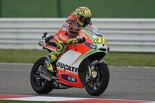 MotoGP - Rossi mit seiner Qualifikation zufrieden