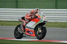 MotoGP - Hayden entscheidet Rennstart nach Warm-Up