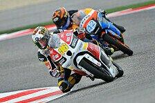 Moto3 - Heidolf zufrieden mit Finsterbusch