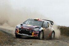 WRC - Vier Citroen-Fahrer in den Top-10