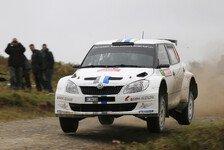 WRC - Volkswagen mit Klassensieg in Wales