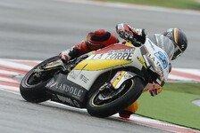 Moto2 - Schrötter konnte sich steigern