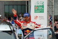 WRC - Loeb: Wollte mich nicht wie im Ruhestand fühlen
