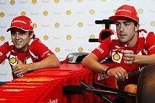 Formel 1 - Alonso steht hinter Massa