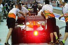 Formel 1 - Force India: Schnell mit viel und wenig Benzin