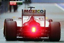 Formel 1 - Sauber beim Singapur-Auftakt zu langsam