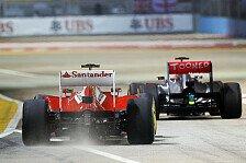 Formel 1 - Whitmarsh: 20 Rennen sind genug
