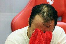 Formel 1 - Ferrari nicht so konkurrenzfähig wie in Monza