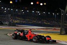 Formel 1 - Marussia Vorschau: Singapur Grand Prix