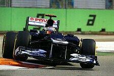 Formel 1 - Maldonado dank großen Fortschritten auf P2