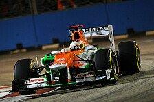 Formel 1 - Di Resta jubelt über Platz vier