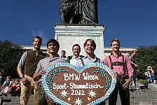 DTM - BMW-Stars feiern auf dem Oktoberfest