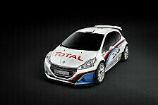 WRC - Peugeot stellte neuen Boliden vor